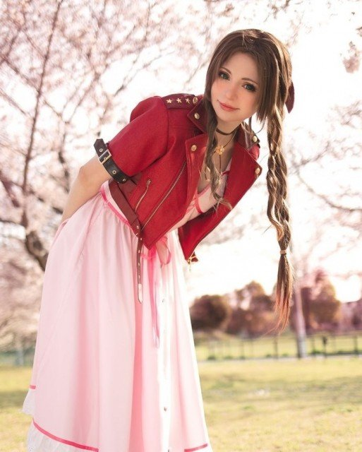 I just love Aerith so much, okay that's all x📸...