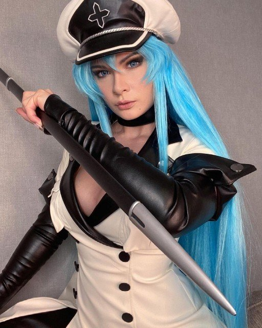 Just did a first test for my costume of Esdeath...