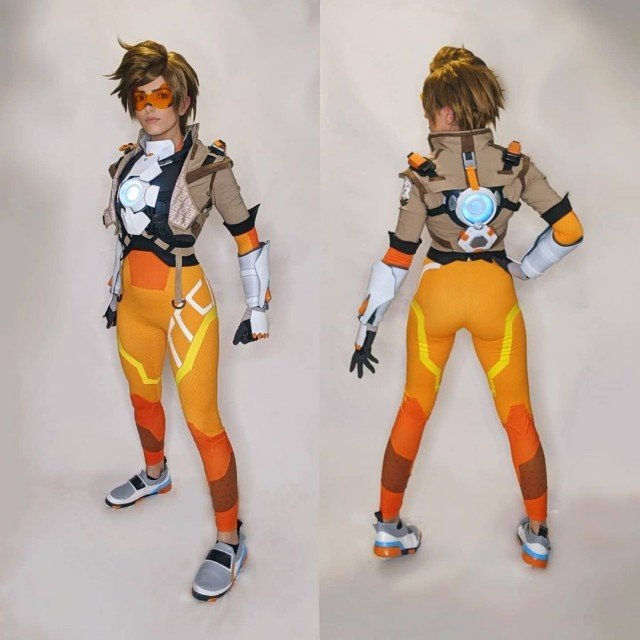 Tracer is done!! Sorry for the poor phone photos but...
