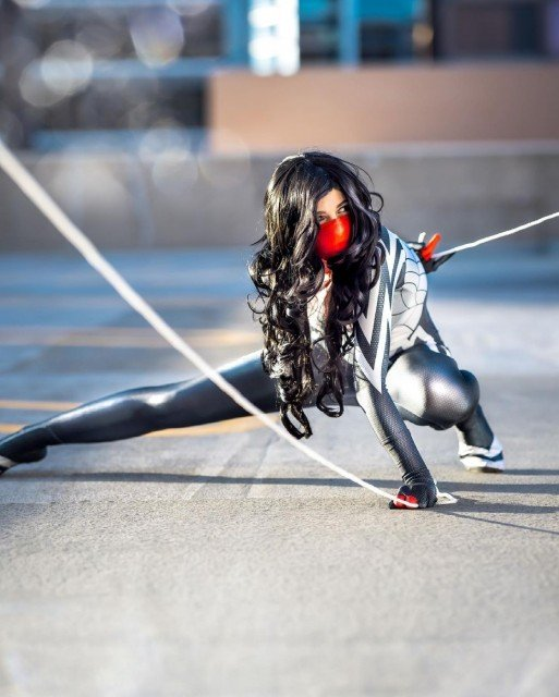 Hi. My name is Silk. You're all, uh... under arrest....