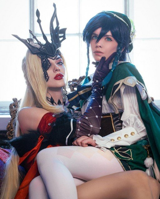 My dear Venti! 💚 @caterpillar_cos and I have made an...
