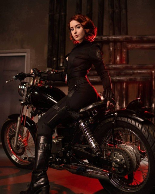 Can't wait to watch the new movie and you? 🖤#blackwidow...