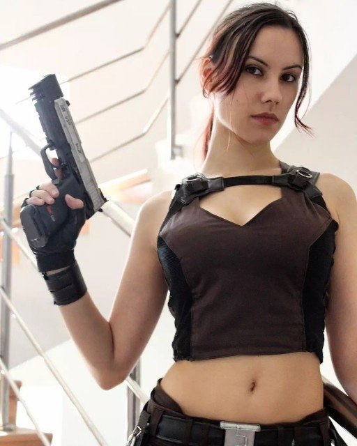 Have you ever played in Tomb Raider Underworld? 😉.#tombraiderunderworldcosplay #tombraiderlaracroft...