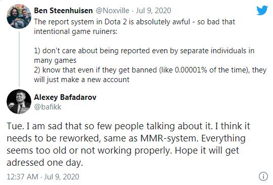 Bafik: «Я думаю, что репорты должны быть переработаны, так же, как и MMR-система»
