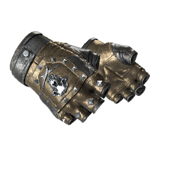 Bloodhound Gloves, Bronzed